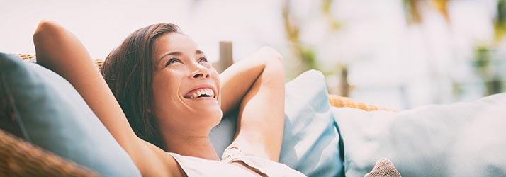 Chiropractor Clarkesville GA Happy Woman